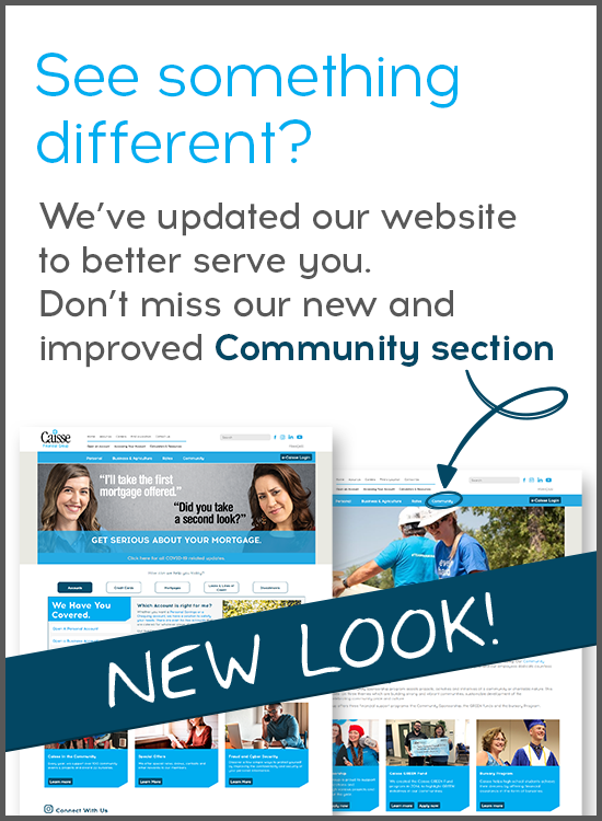 See something different? We've updated our website to better serve you. Don't miss our new and improved Community section!